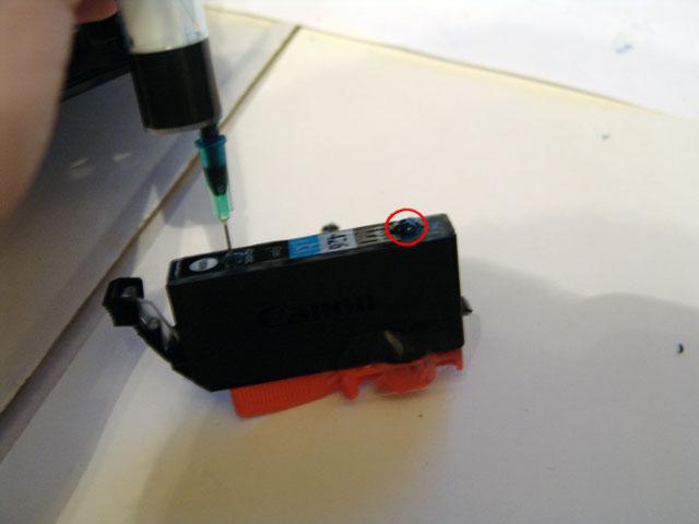 Заправка nano картриджей canon