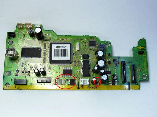 Транзисторы C6017 и A2169 и предохранители F1 и F2 Epson TX117