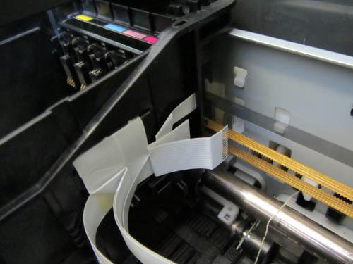 Прочистка принтера Epson