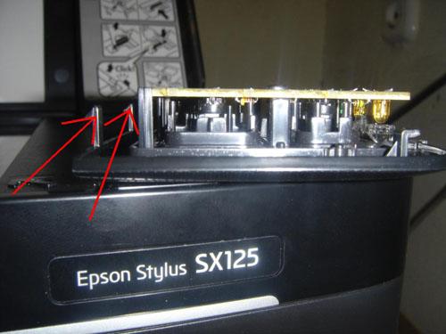 Промывка головки Epson sx125